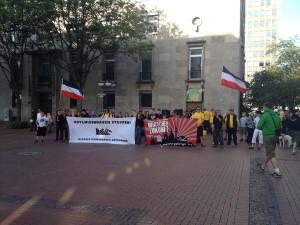 2015-06-15 Nazikundgebung Katharinenstr