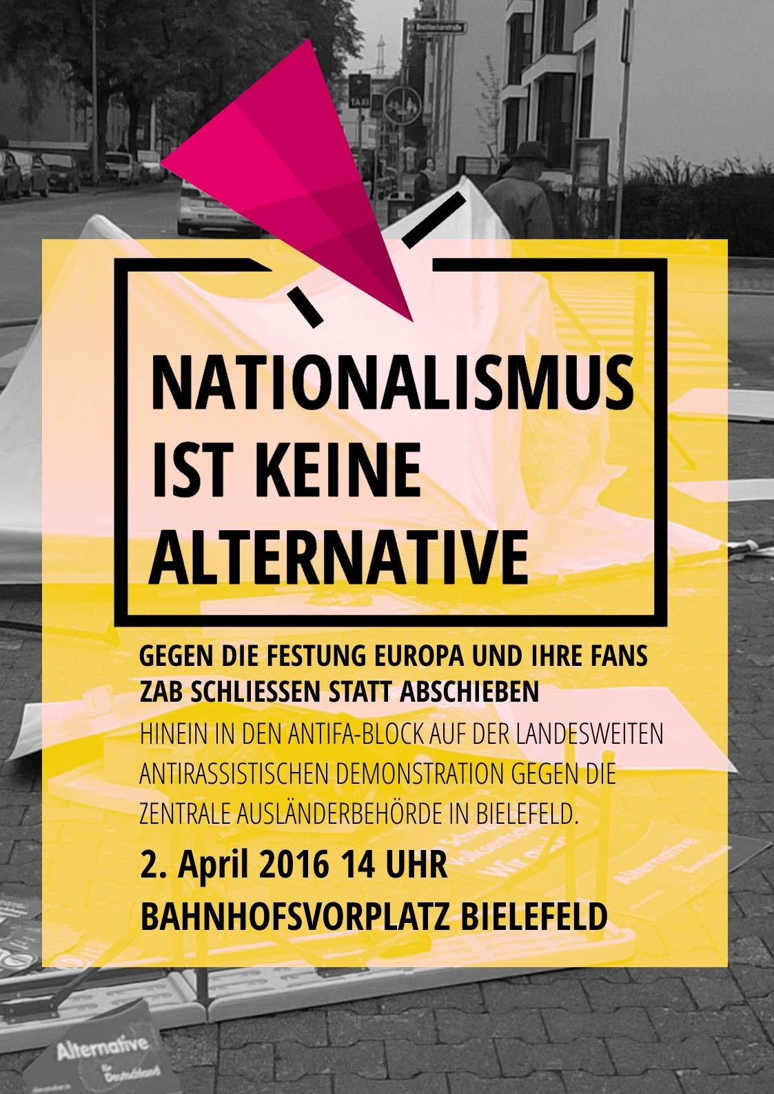 demonstrationen in essen und bielefeld am samstag autonome antifa 170. Black Bedroom Furniture Sets. Home Design Ideas